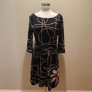 NWOT Desigual black/patterned dress XL